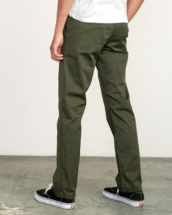 2 Week-End Stretch Pant Green M314VRWS RVCA