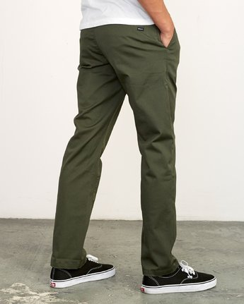 3 Week-End Stretch Pant Green M314VRWS RVCA