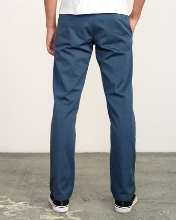 1 week-end Stretch straight fit Pant Blue M314VRWS RVCA