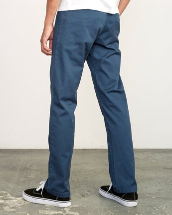 3 WeekEnd Stretch straight fit Pant Blue M314VRWS RVCA