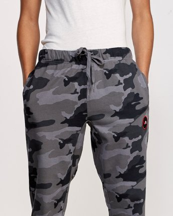 6 Kane Swift Sweat Pant Black M315VRKS RVCA