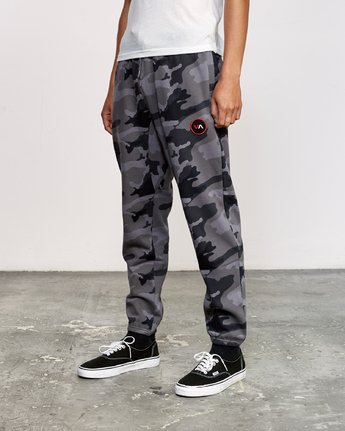 1 Kane Swift Sweat Pant Black M315VRKS RVCA