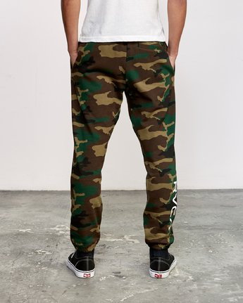 1 Kane Swift Sweat Pant Brown M315VRKS RVCA