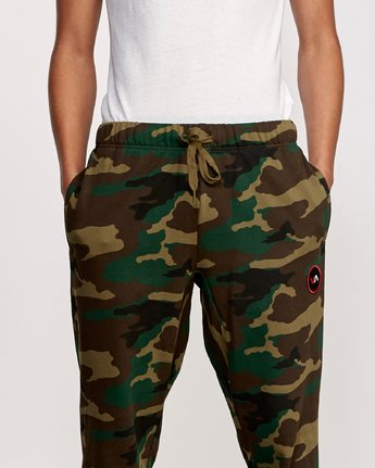6 Kane Swift Sweat Pant Brown M315VRKS RVCA