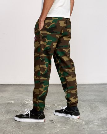 3 Kane Swift Sweat Pant Brown M315VRKS RVCA