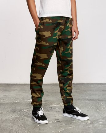 5 Kane Swift Sweat Pant Brown M315VRKS RVCA