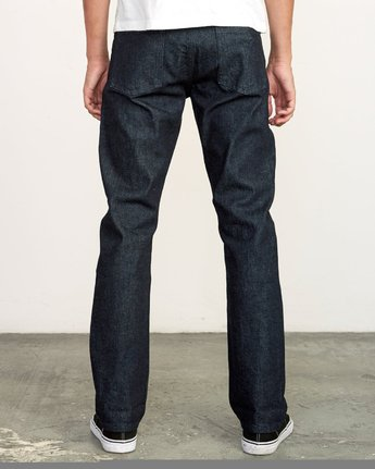 4 Weekend Raw Selvedge Jeans Blue M320VRWK RVCA