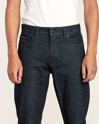 6 Weekend Raw Selvedge Jeans Blue M320VRWK RVCA