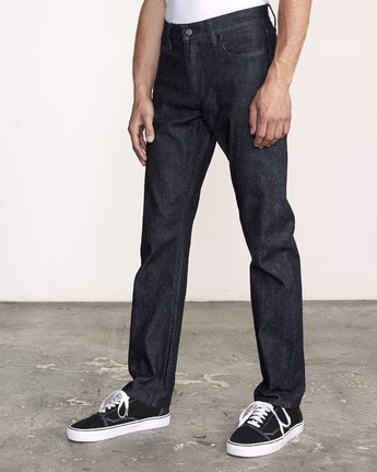 1 Weekend Raw Selvedge Jeans Blue M320VRWK RVCA