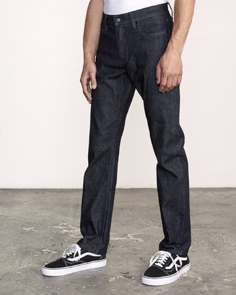 2 Weekend Selvedge STRAIGHT FIT denim Blue M320VRWK RVCA