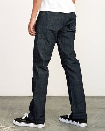 2 Weekend Raw Selvedge Jeans Blue M320VRWK RVCA