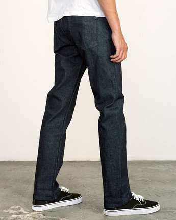 5 Weekend Selvedge STRAIGHT FIT denim Blue M320VRWK RVCA