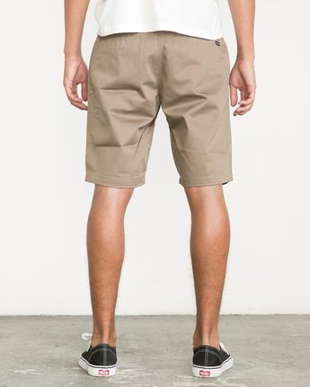 4 Week-End Shorts Green M3211WES RVCA