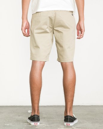 4 Week-End Shorts Beige M3211WES RVCA
