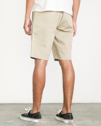3 Week-End Shorts Beige M3211WES RVCA