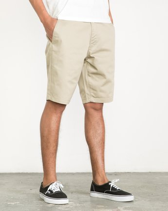 6 Week-End Shorts Beige M3211WES RVCA