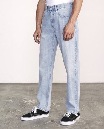 1 Americana Relaxed Fit Denim White M321VRAM RVCA