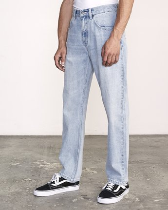 1 Americana Relaxed Fit Jeans White M321VRAM RVCA