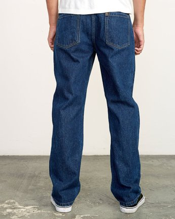 3 Americana Relaxed Fit Denim Blue M321VRAM RVCA
