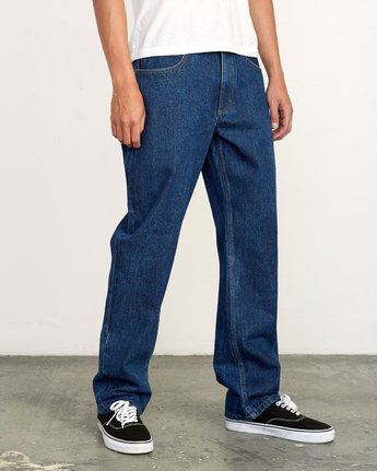 5 Americana Relaxed Fit Denim Blue M321VRAM RVCA