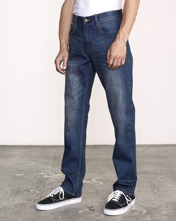 1 Weekend Straight Fit Jeans Blue M323VRWK RVCA
