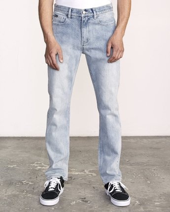 0 WEEKEND STRAIGHT FIT Denim Beige M323VRWK RVCA