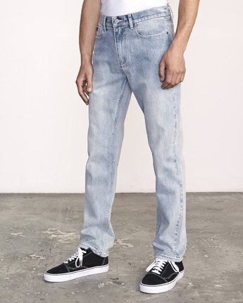 1 WEEKEND STRAIGHT FIT Denim Beige M323VRWK RVCA