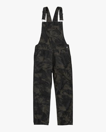 7 CHAINMAIL RELAXED FIT OVERALL Black M3263RNH RVCA