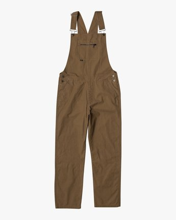 9 CHAINMAIL RELAXED FIT OVERALL Brown M3263RNH RVCA