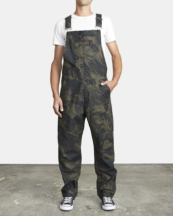 1 CHAINMAIL RELAXED FIT OVERALL Black M3263RNH RVCA