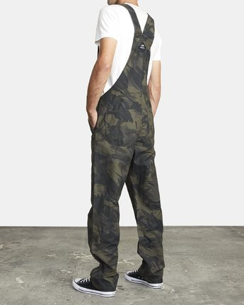 4 CHAINMAIL RELAXED FIT OVERALL Black M3263RNH RVCA