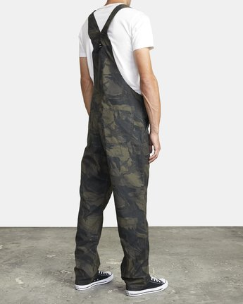 5 CHAINMAIL RELAXED FIT OVERALL Black M3263RNH RVCA
