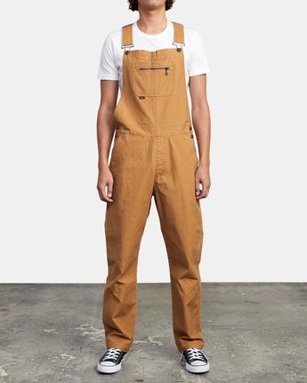 1 CHAINMAIL RELAXED FIT OVERALL Brown M3263RNH RVCA