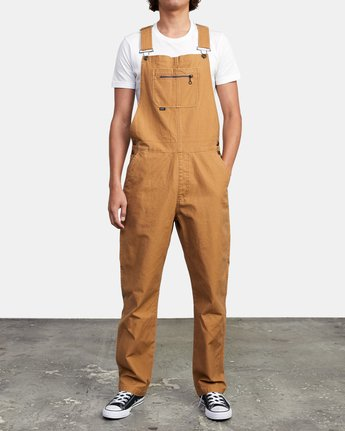 2 CHAINMAIL RELAXED FIT OVERALL Brown M3263RNH RVCA