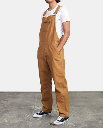 4 CHAINMAIL RELAXED FIT OVERALL Brown M3263RNH RVCA