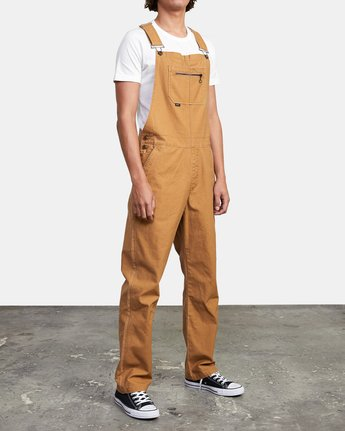 7 CHAINMAIL RELAXED FIT OVERALL Brown M3263RNH RVCA