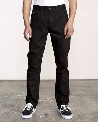 0 Daggers Slim Fit Denim Grey M327VRDA RVCA