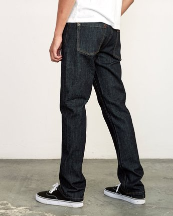 3 Daggers Slim Fit Denim Blue M327VRDA RVCA