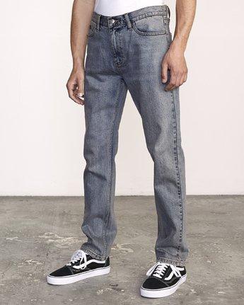 2 Daggers Slim-Straight Jeans Blue M327VRDA RVCA