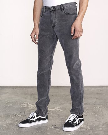 2 Daggers Slim Fit Denim Grey M327VRDA RVCA