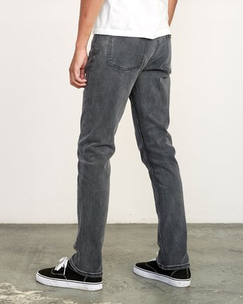 3 Daggers Slim Fit Denim Grey M327VRDA RVCA