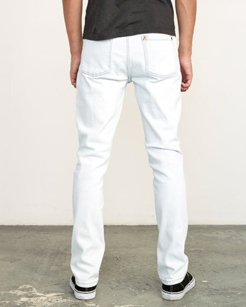 4 Daggers Slim Fit Denim White M327VRDA RVCA