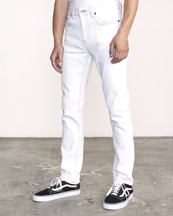 2 Daggers Slim Fit Denim White M327VRDA RVCA