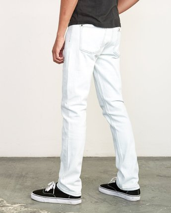 3 Daggers Slim Fit Denim White M327VRDA RVCA