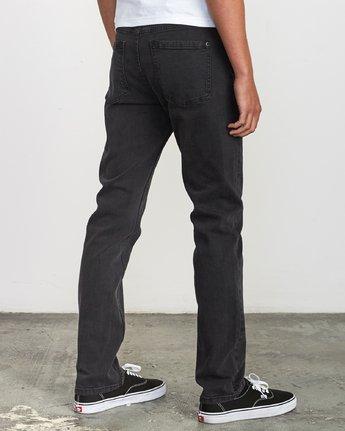 5 Hexed Slim Fit Jeans Black M328VRHD RVCA