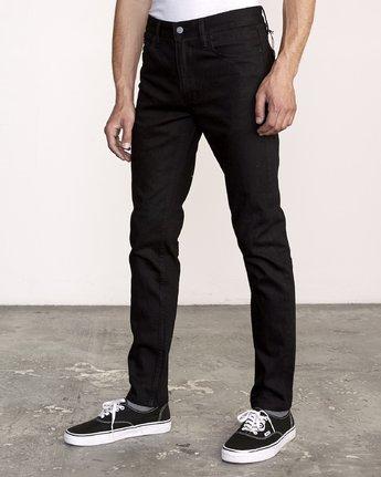 2 RVCA Rockers Skinny Jeans Grey M329VRRD RVCA