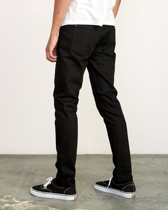 3 ROCKERS SKINNY FIT DENIM Grey M329VRRD RVCA