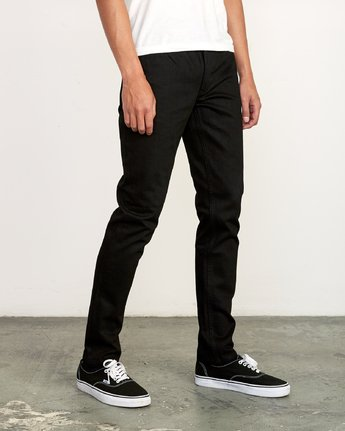 6 ROCKERS SKINNY FIT DENIM Grey M329VRRD RVCA