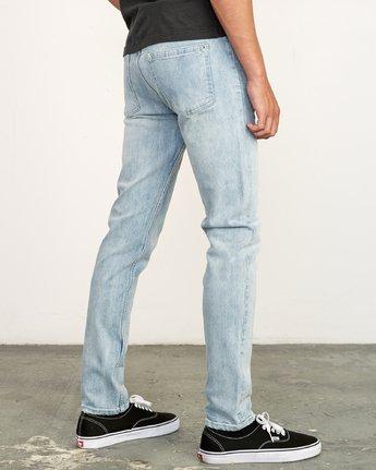 5 RVCA Rockers Skinny Jeans Beige M329VRRD RVCA