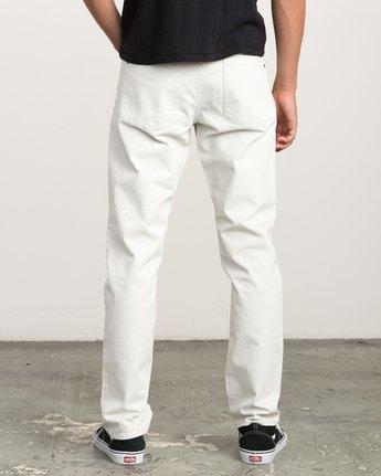 3 Daggers Slim-Straight Twill Pants Silver M3301DAG RVCA